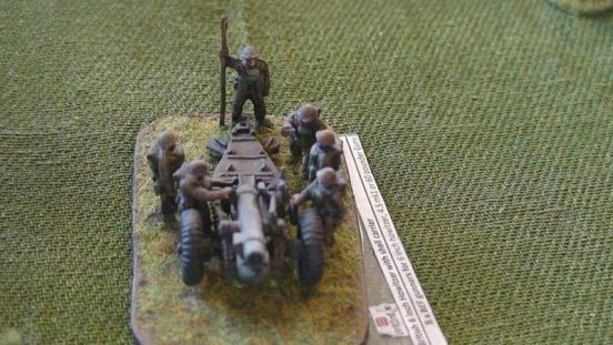 6 x BEF gunners for 6 inch howitzer or 4.5 mk1 or 60