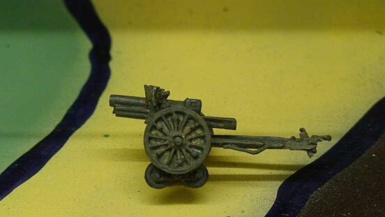 105mm Model 1935B Howitzer Bourges with