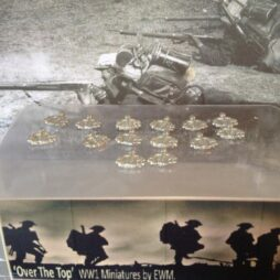 14 x French 1914 main packs for putting on EWM figures.